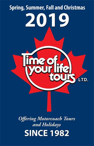 Time Of Your Life Tours - Toronto Tour Operators